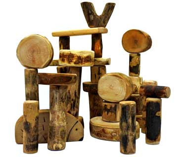 Wooden Toys natural LNP