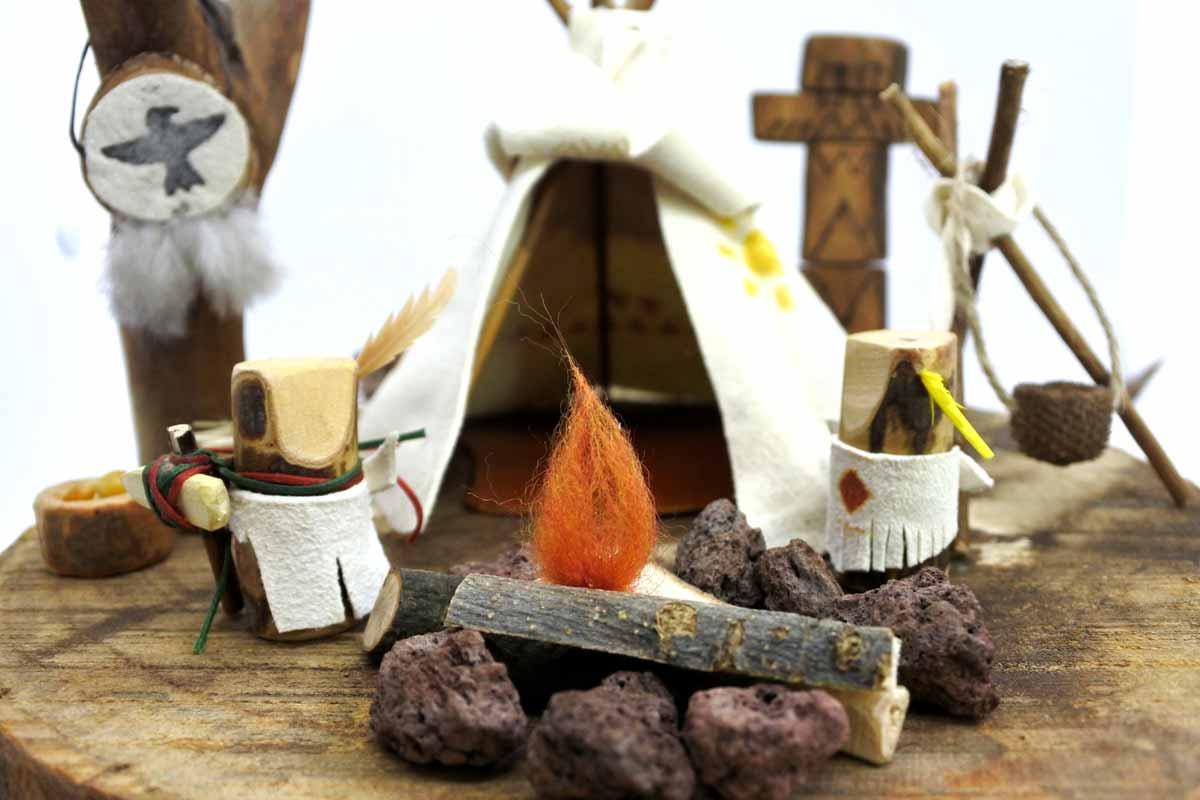 teepe totem - τίπι τότεμ - ξύλινα παιχνίδια lovenatureplay.gr