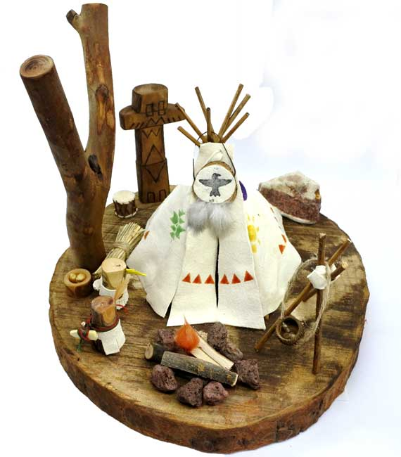 wooden toy world dakota &Natural toys - Φυσικά παιχνίδια - Indians - lovenatureplay.gr kai