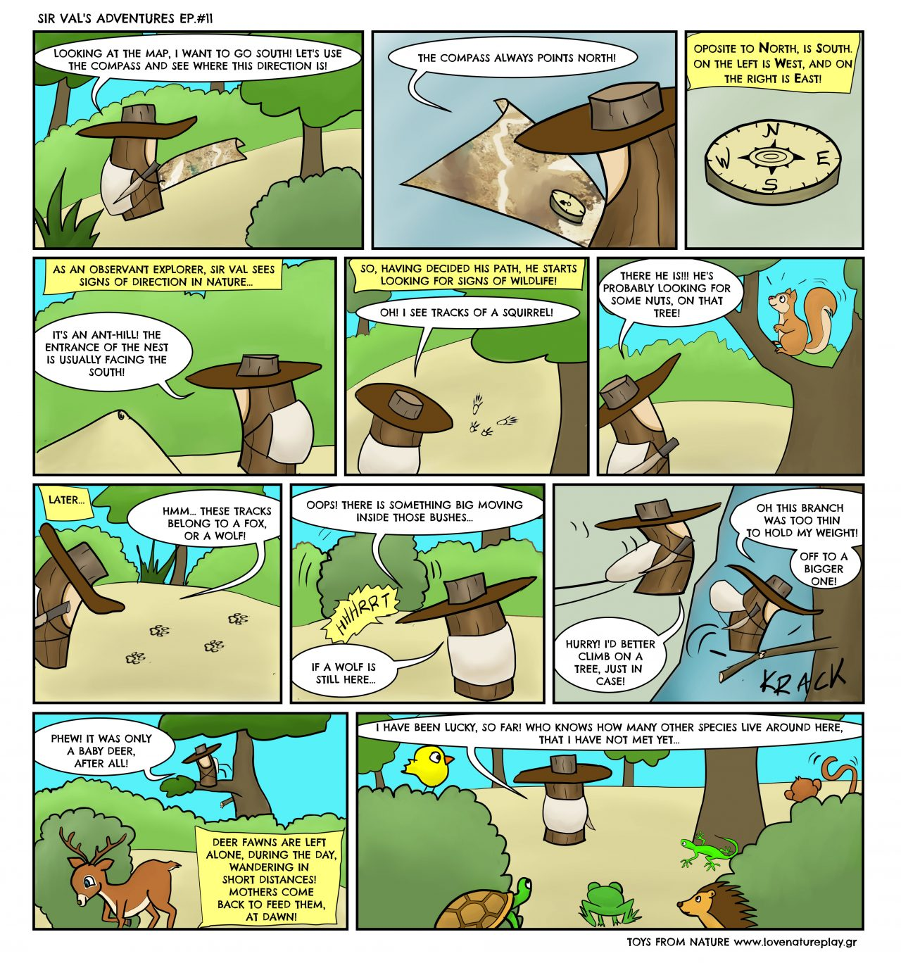 LNP's Comics - Sir Val's adventures EPISODE #11 by Love